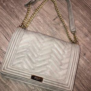 BCBG Gray Shoulder Bag